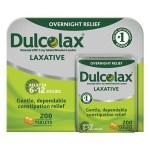 remedio importado Laxante Dulcolax- 200 comprimidos
