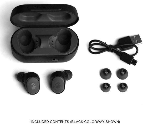 Fone de ouvido in-ear sem fio Skullcandy Sesh True Wireless Earbuds.