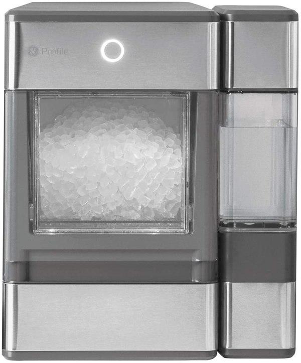 Máquina De Gelo GE Profile Opal, Portátil, Aço Inox – 110v