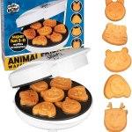 Máquina De Waffles De Animais Divertidos-cucinapro 110v.