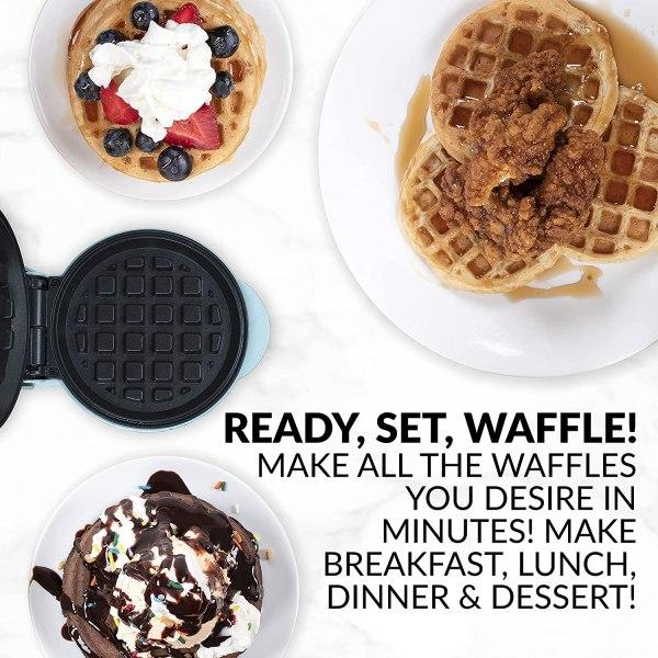 Mini Maquina De Waffle Nostalgia -MWF5AQ.