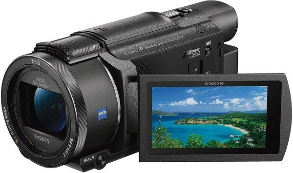 Sony Fdr Ax53 4k Ultra Hd Filmadora Handycam.