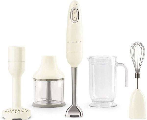 Mixer.Liquidificador de Mão SMEG HBF02CRUS – Creme