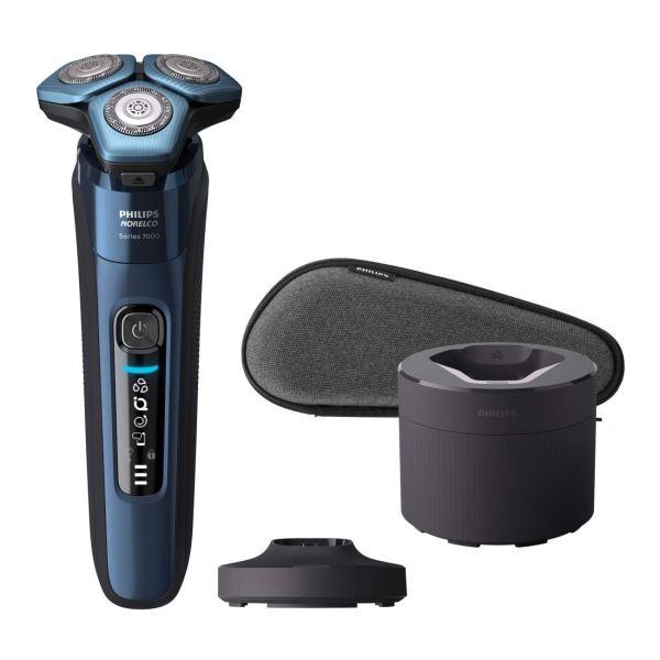 Philips Norelco Shaver 7700 Quick Clean Pod carregador e aparador pop-up