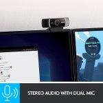 Webcam Logitech C922x Pro Stream – Câmera Full Hd 1080p.;