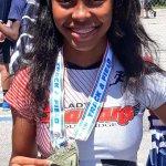 Southridge Athletics Female Athlete with Medal