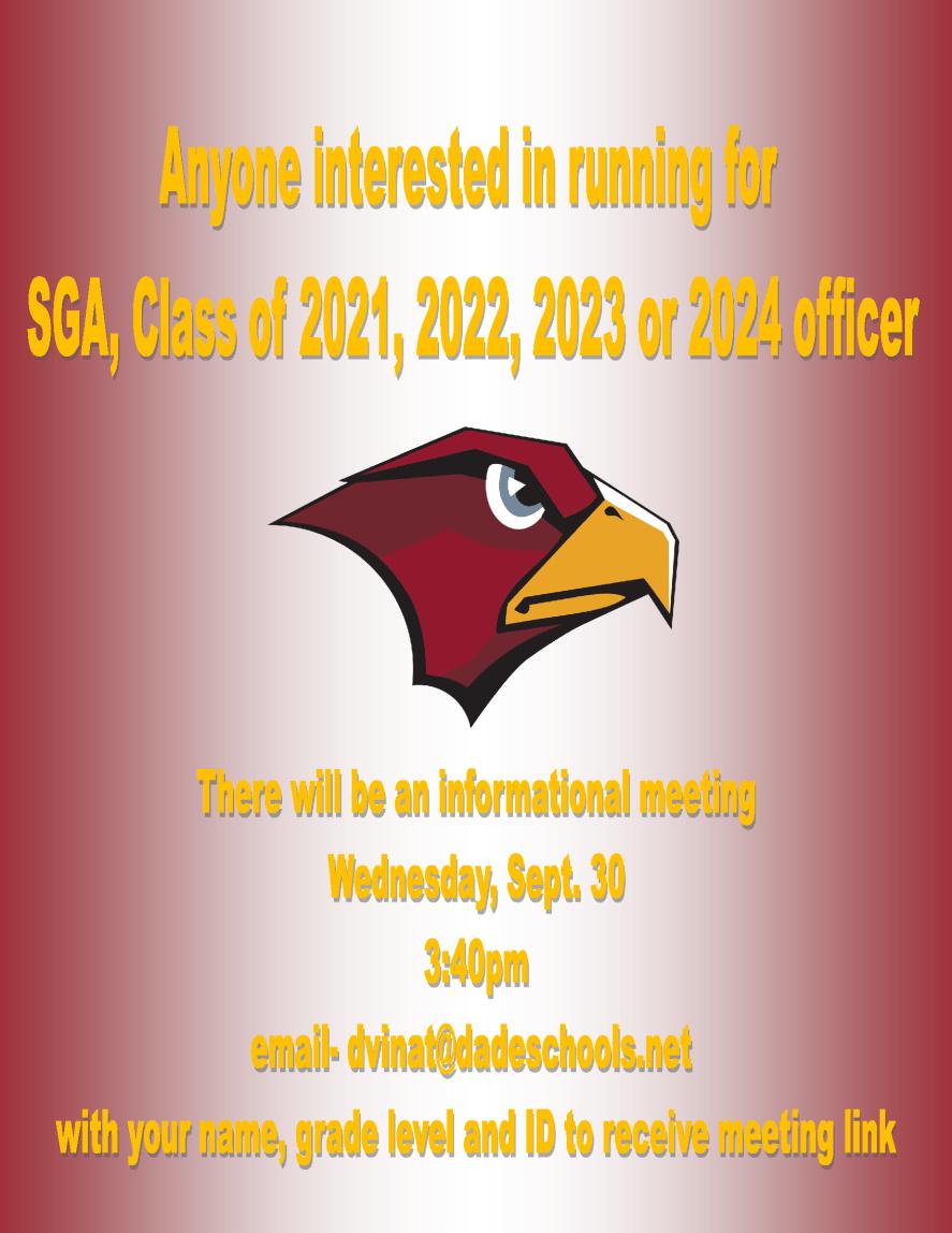 meeting information flyer