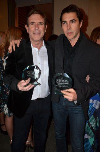En la noche del Cover Party y Showcase de Latino Show Magazine, se entregaron importantes reconocimientos tanto para Carlos Mata actor y Nicolas Felizola diseñador de modas. Foto: Soledad Ramon