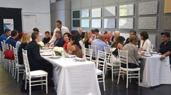 Private Luncheon and Bespoke Design/CoveringsETC + LAUFEN