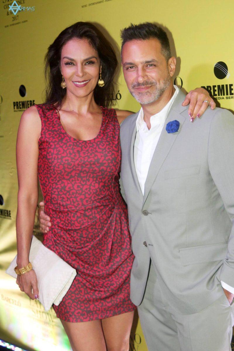 Gloria Peralta y Omar Germenos