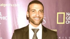 outshinefilm, actor, haaz sleiman, receive vanguard, award, vanguard award, lgbtq, gloria, emilio estefan, fred rosser, wwe superstar darren young, closing night awards party, awards party, ifp gotham award, nurse jackie, american television, killing jesus, the good wife, covert affairs,