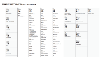 American Collections Fashion Week Schedule – NYFW – February 2021