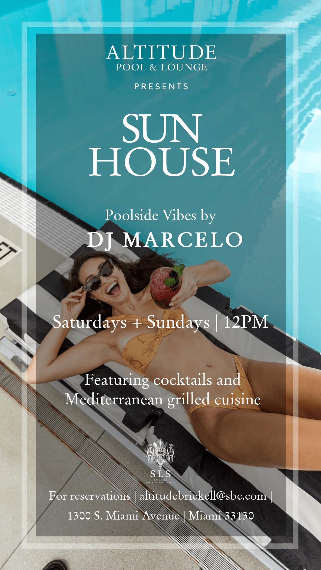 Sun House at The SLS Brickell Altitude Pool & Lounge
