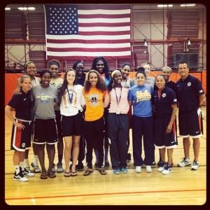2014 18U USA Basketball Team