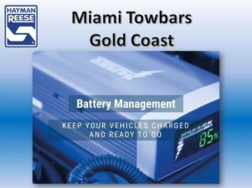 Dual Battery Management