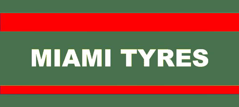 MIAMI TYRES WHITE