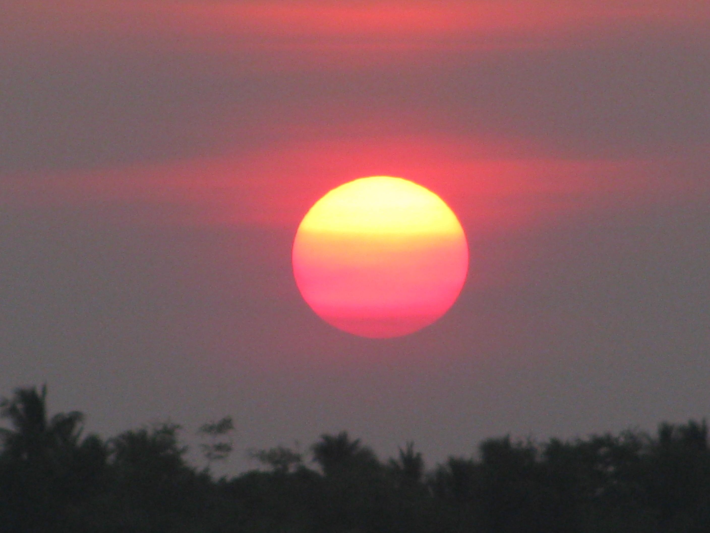 Sunset on the Mekong, Kratie, Cambodia