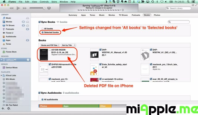 epub to pdf mac os x