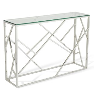 phoenix silver console table