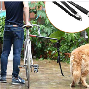 Decdeal Pet Dog Bike Leash for Bicycle Rides