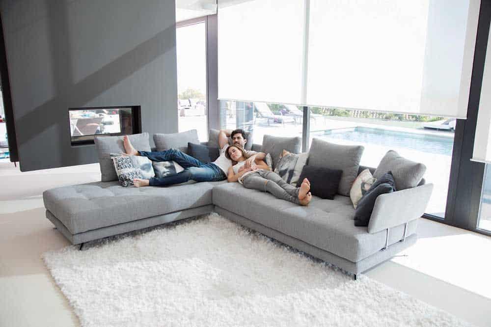 Fama Pacific Curved Sofa
