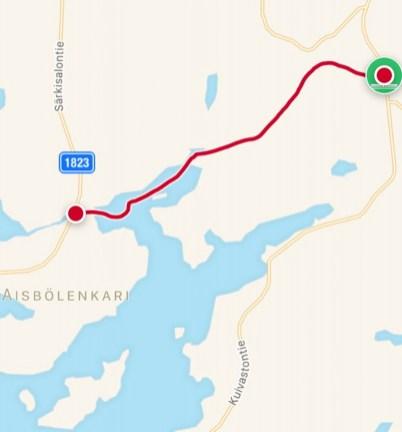 Reitti 5,9 km