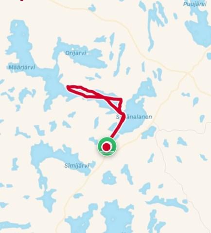Reitti (11,01 km)