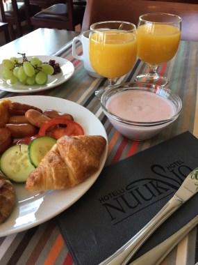 Aamiainen, Hotelli Nuuksio