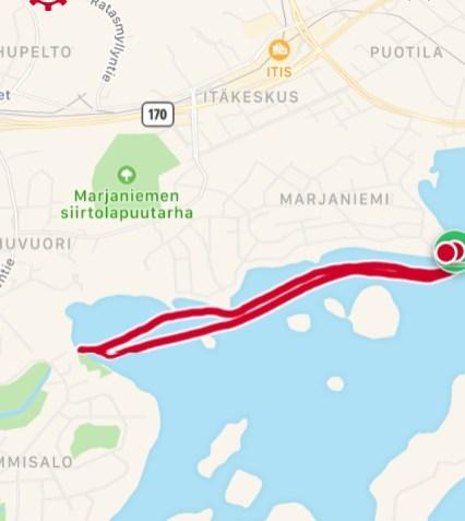 Reitti 2, 4,33 km