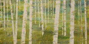 Ephemeral Grove Oil on Canvas 2008