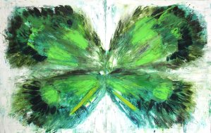 Green Wings Oil on Canvas 2011