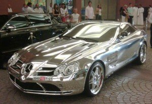 El Mercedes de un taquero