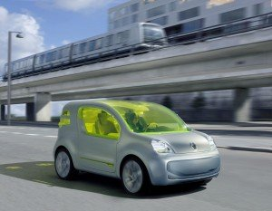 Un auto muy verde