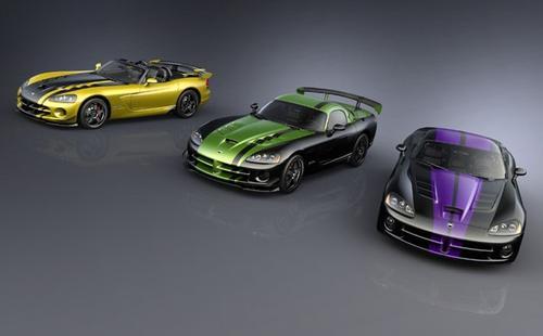 2010 Viper Dodge colores