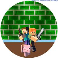 Kit Imprimible Minecraft Descarga Gratis
