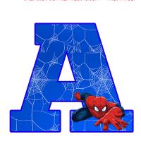 Numeros y Letras de SPIDERMAN