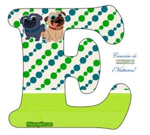 abecedarios infantiles con perritos