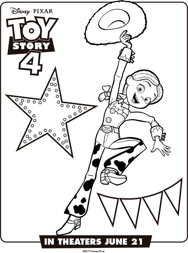 Toy Story 4 Dibujos Para Colorear Mi Barquito