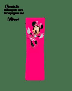 abecedario Minnie letras rosasario Minnie letras rosas