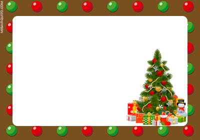 Tarjetas Regalos Navidad