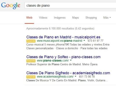 Google AdWords - Anuncios