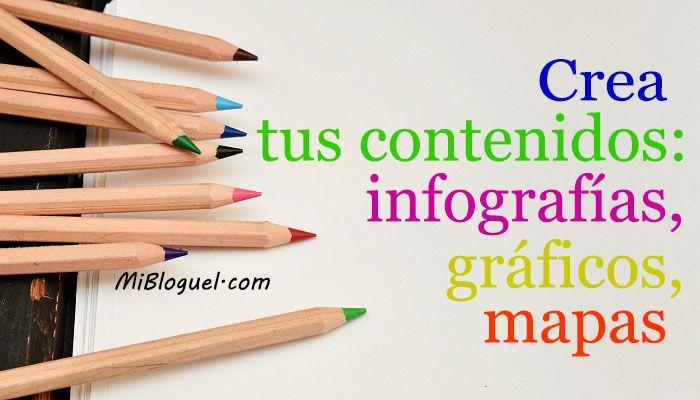 Infografías, gráficos, mapas