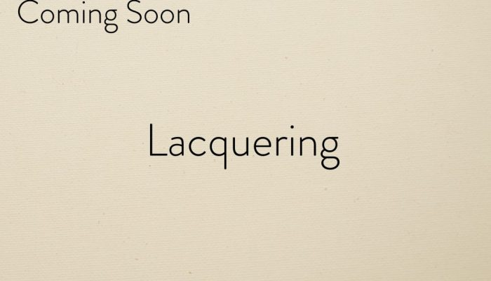 Lacquering