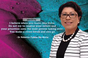Quotes by Dr Rebecca Fatima Sta Maria