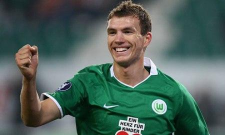 Dzeko podría volver a Alemania, esta vez con el Dortmund