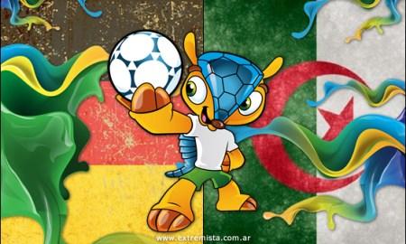 Dónde ver Argelia vs Alemania Brasil 2014