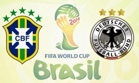 Alineaciones Brasil vs Alemania Brasil 2014
