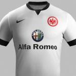 Nueva camiseta Eintracht Frankfurt 2014/2015 visitante