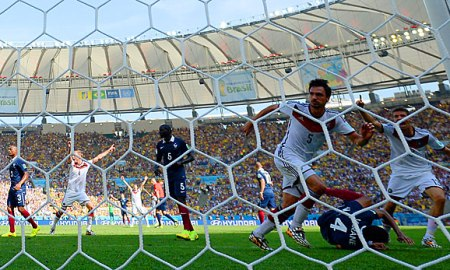 Francia vs Alemania Hummels. Foto: Getty via Spox