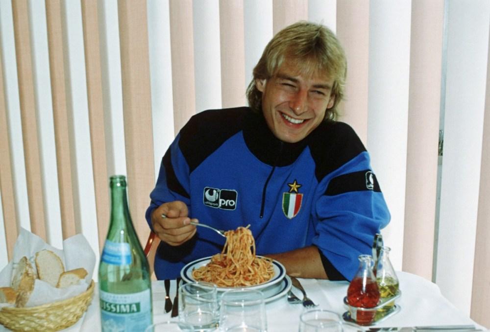 Jürgen Klinsmann fue parte del trío alemán del Internazionale de los 80 y 90. (Bongarts/Getty Images)